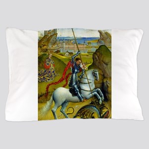 Saint George and The Dragon Pillow Case