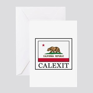 Calexit Greeting Cards
