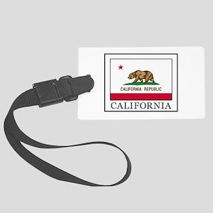California Large Luggage Tag