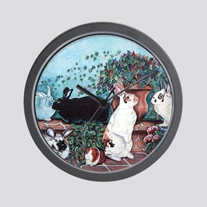 Rabbit Social Wall Clock