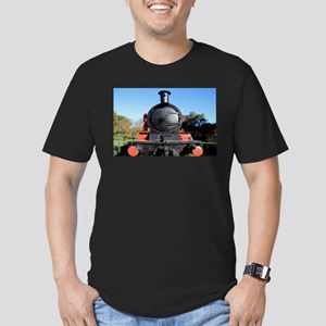 Red and black steam train engine 1 T-Shirt