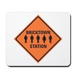 bricktown station Mousepad