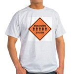 bricktown station Ash Grey T-Shirt