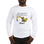 Christmas Hoe Long Sleeve T-Shirt