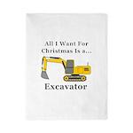 Christmas Excavator Twin Duvet