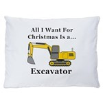 Christmas Excavator Dog Bed