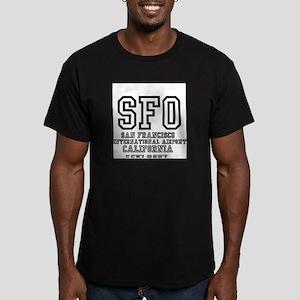 AIRPORT CODES - SFO - SAN FRANCISCO, CA T-Shirt