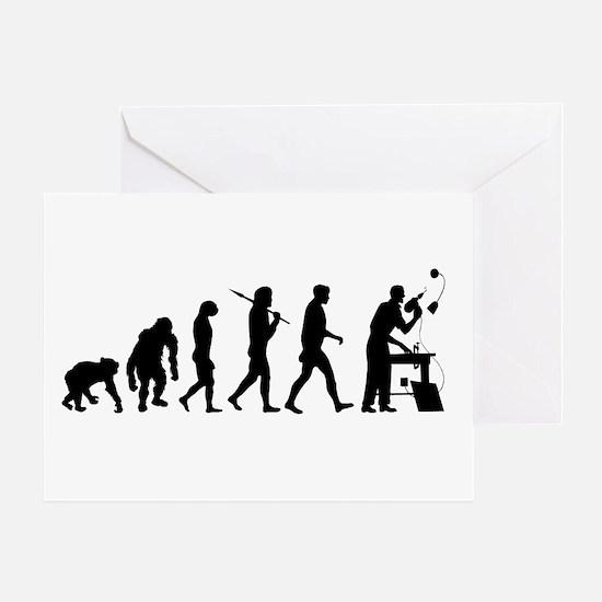 Handyman Evolution Greeting Card