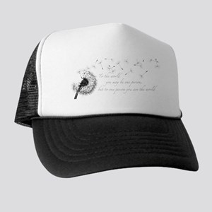Dandelion Inspiration Trucker Hat