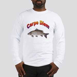 Carpe Diem Seize the Day (Front) Long Sleeve T-Shi