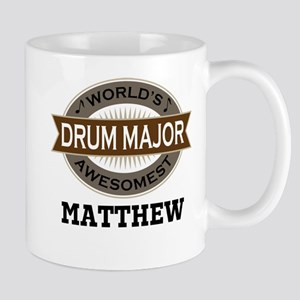Drum Major Personalized Mugs