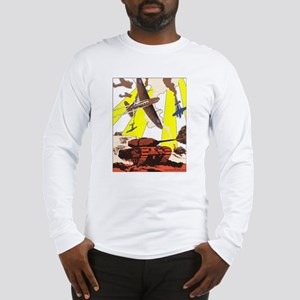 """Tanks & Planes"" Long Sleeve T-Shirt"