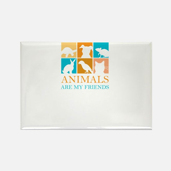 animals are my friends Magnets