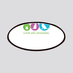 love all animals Patch