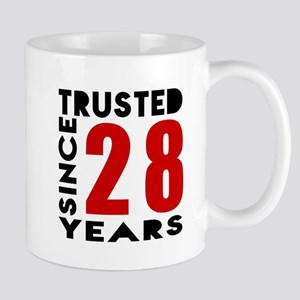 Trusted Since 28 Years Mug