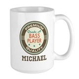 Bass player Large Mugs (15 oz)