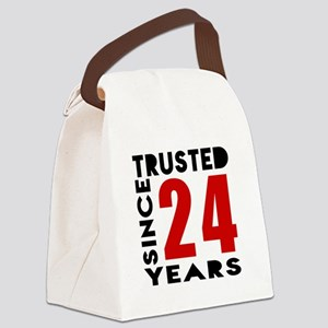 Trusted Since 24 Years Canvas Lunch Bag