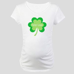 Wee Lass Maternity T-Shirt