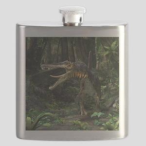 Dinosaur Spinosaurus Flask