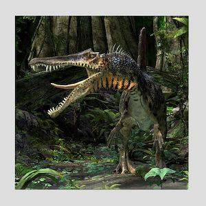 Dinosaur Spinosaurus Tile Coaster