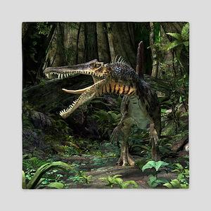 Dinosaur Spinosaurus Queen Duvet