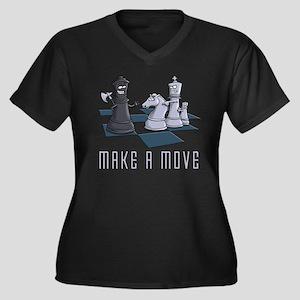 Chess, make a move Plus Size T-Shirt