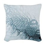 Fish And Bones Woven Throw Pillow