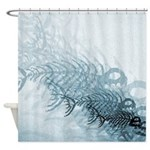 Fish And Bones Shower Curtain
