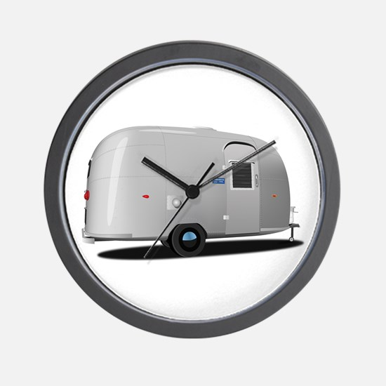 Vintage Airstream Wall Clock