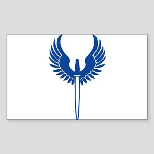 BLUE Valk Sticker
