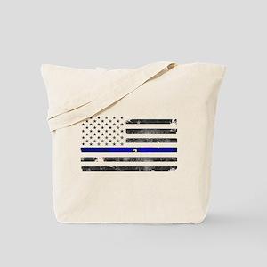 Blue Lives Matter - Police Officer Gifts Tote Bag