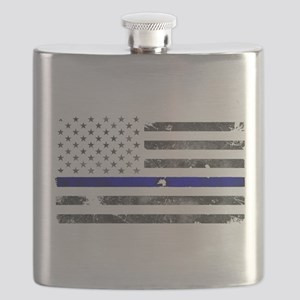 Blue Lives Matter - Police Officer Gifts Flask
