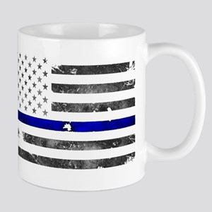 Blue Lives Matter - Police Officer Gifts Mugs