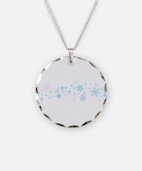 Snowflake Spangled Banner Necklace