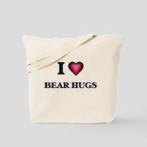 I love Bear Hugs Tote Bag