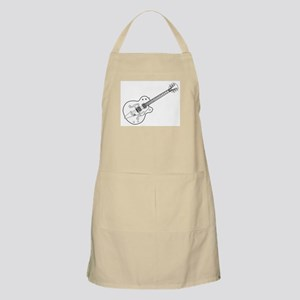 Country and Western Guitar Outline Apron