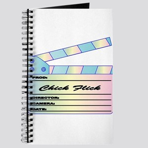 Chick Flick Pastels Clapperboard Journal