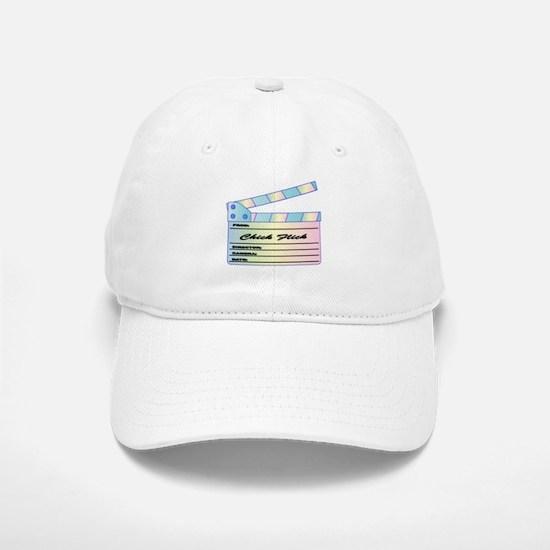 Chick Flick Pastels Clapperboard Baseball Baseball Cap