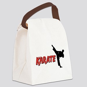 Karate Gifts Canvas Lunch Bag