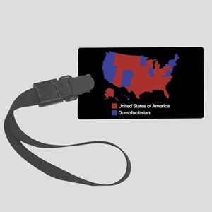 Dumbfuckistan Large Luggage Tag