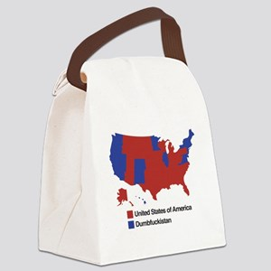 Dumbfuckistan Canvas Lunch Bag