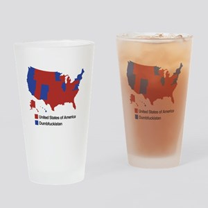 Dumbfuckistan Drinking Glass