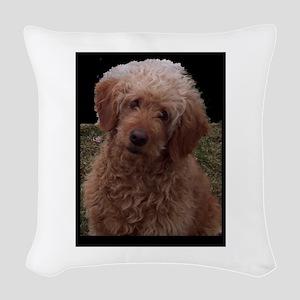 World's Cutest Dog Woven Throw Pillow