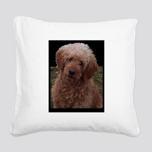 World's Cutest Dog Square Canvas Pillow