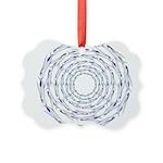 Flying Fish Ring Pattern Ornament