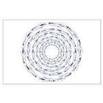 Flying Fish Ring Pattern Posters