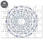 Flying Fish Ring Pattern Puzzle