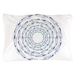 Flying Fish Ring Pattern Pillow Case