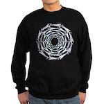 Flying Fish Ring Pattern Sweatshirt