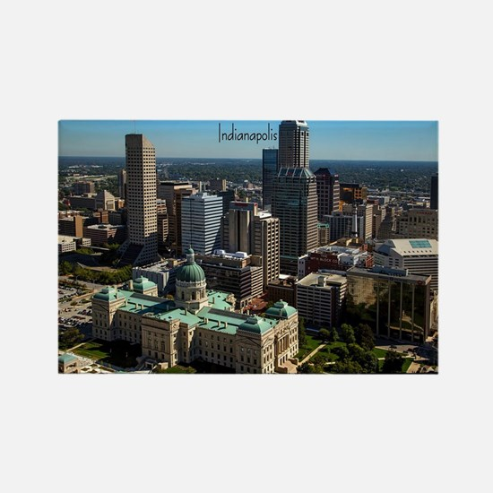 Cute Indianapolis indiana Rectangle Magnet